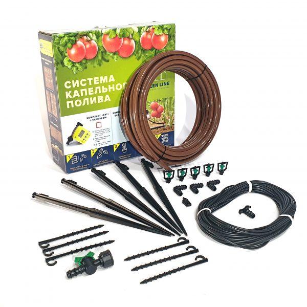 полив для газона, цветочных клумбы и картофеля